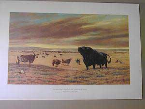 Framing Prints - First Angus in U.S.