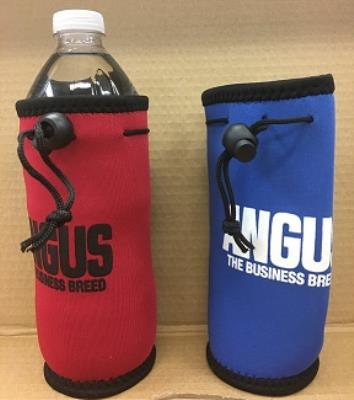 Water Bottle Koozie - Red or Royal Blue